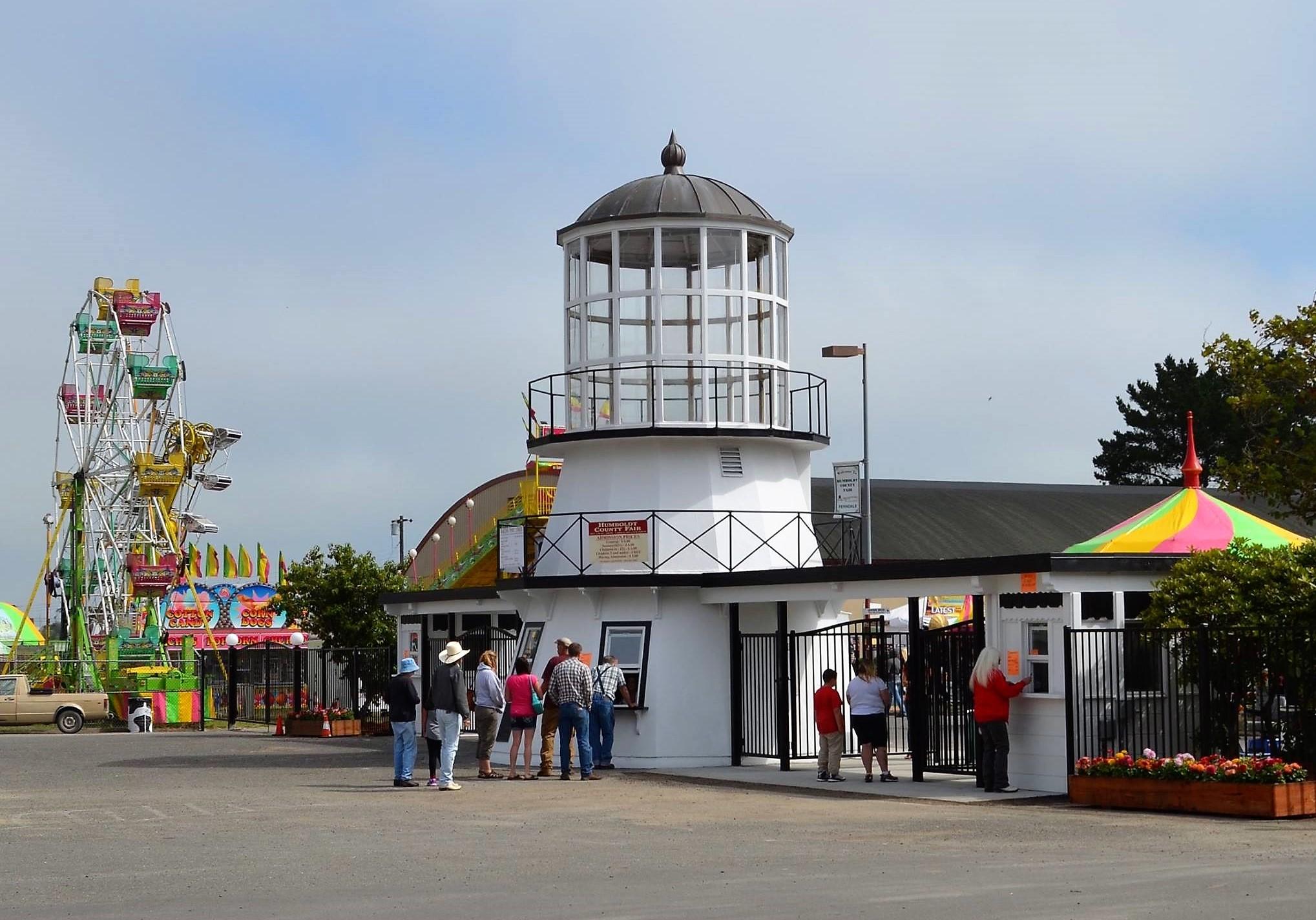 Humboldt County Fair entrance. Photo by Humboldt County Fair.