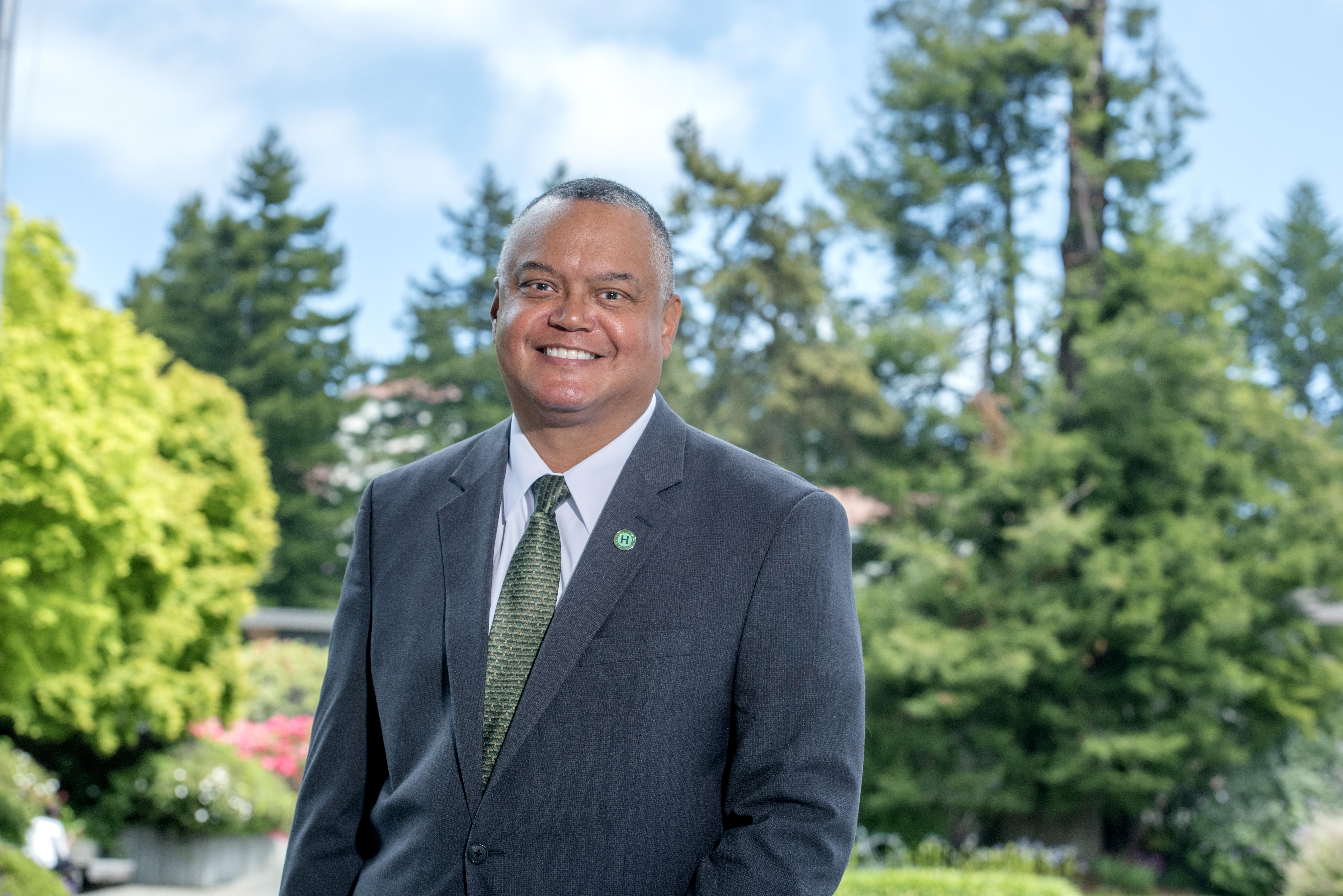 HSU President Tom Jackson, Jr.