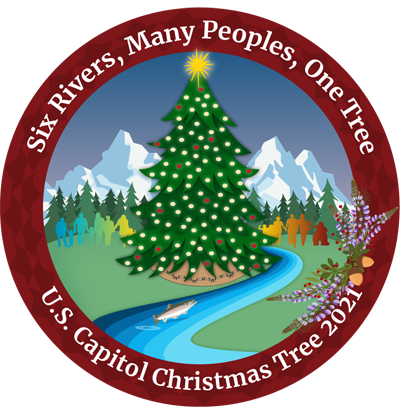 U.S. Capitol Christmas Tree Logo 2021