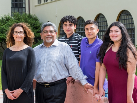 The Benavides-Garb family