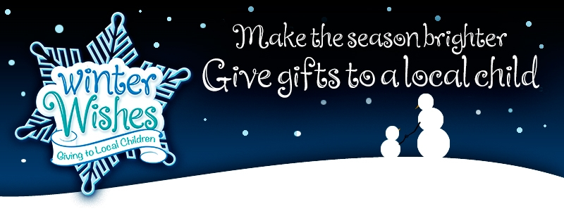 Winter Wishes: Make the season brighter, give gifts to a local child