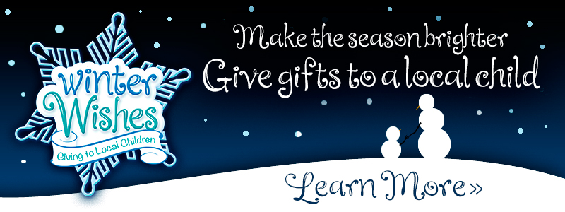 Make the Season Brighter! Give Gifts to a Local Child